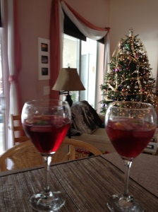 Relax today with a wine spritzer! Photo credit: Words Etc.